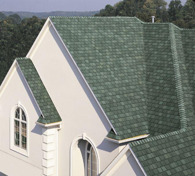 hatterasHunter GreenInternational Certainteed India – Hunter Green Roof Shingles